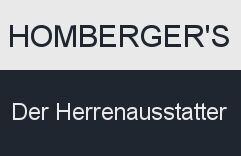 Homberger`s Der Herrenausstatter Logo