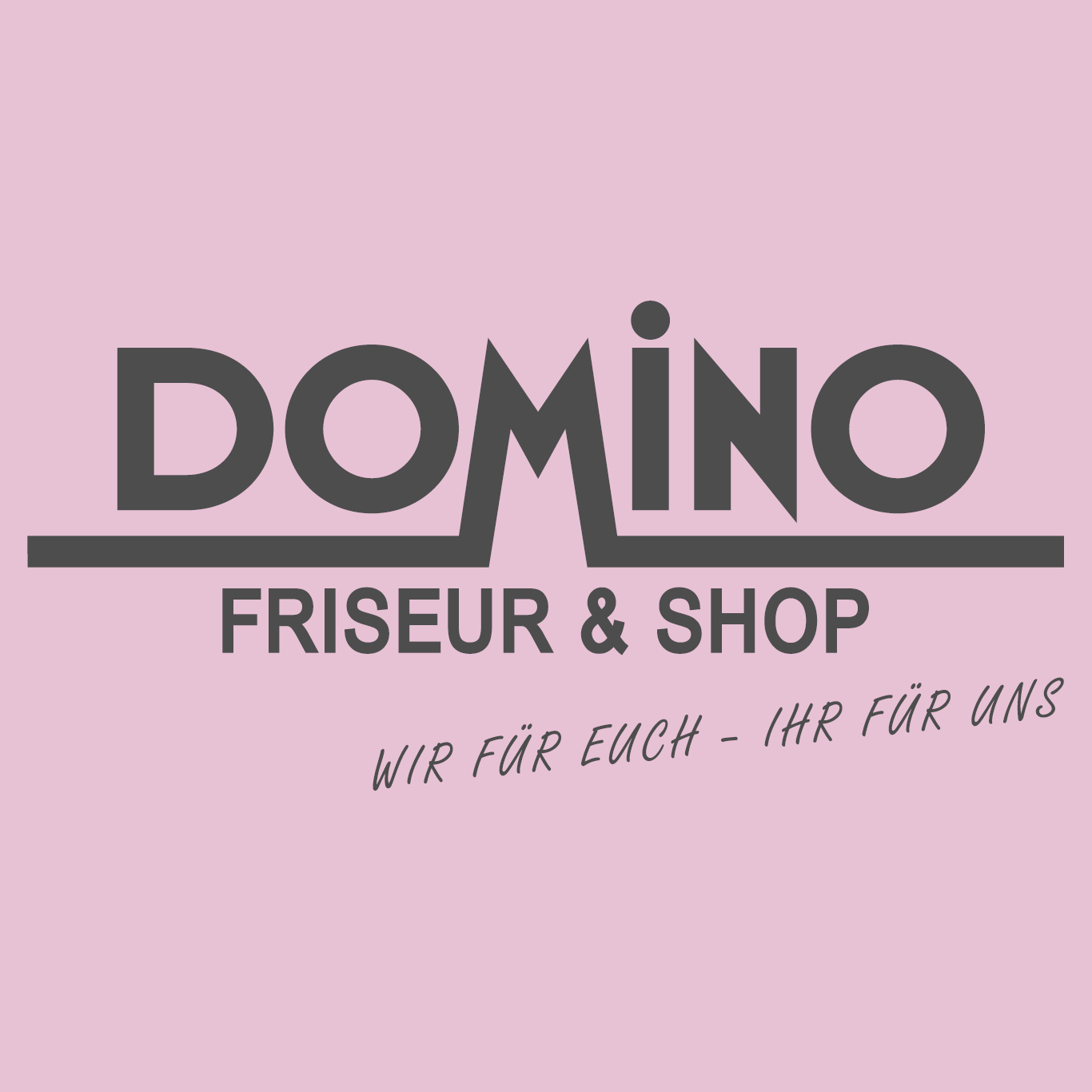 DOMINO Friseur & Shop Logo