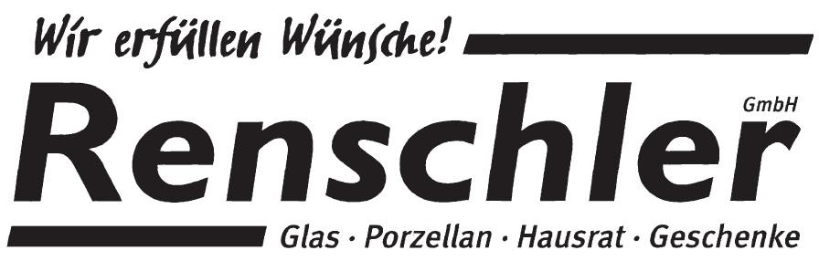 Renschler GmbH - Hausrat Glas Porzellan Geschenke Logo