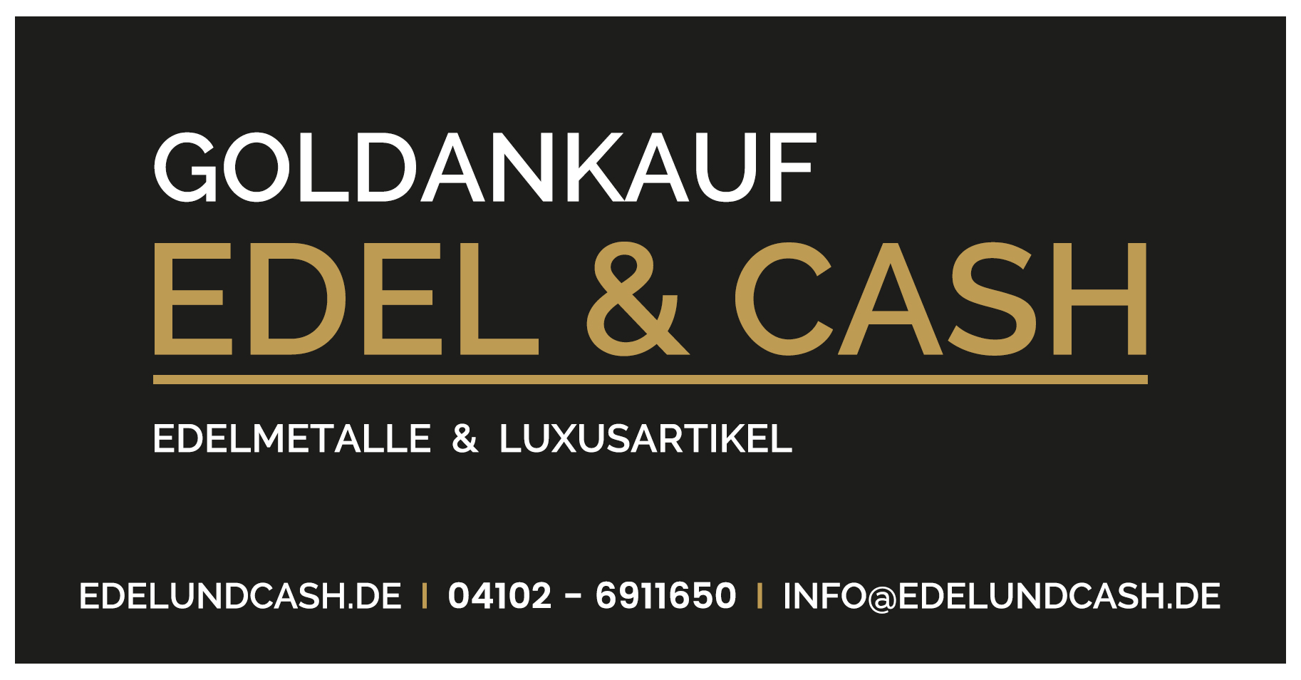 Goldankauf Edel & Cash Logo